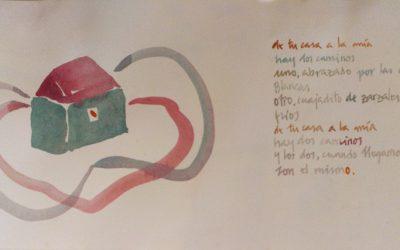 Poemas y Acuarelas. Miguel Herranz y Jorge Bayo