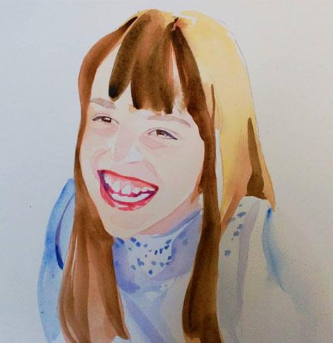Acuarelas por encargo retratos